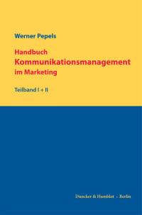 Cover Handbuch Kommunikationsmanagement im Marketing