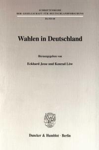 Cover Wahlen in Deutschland