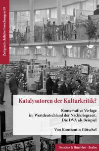 Cover Katalysatoren der Kulturkritik?