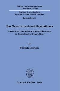 Cover Das Menschenrecht auf Reparationen