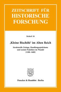 Cover ›Kleine Bischöfe‹ im Alten Reich