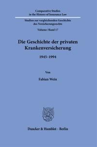 Cover Die Geschichte der privaten Krankenversicherung