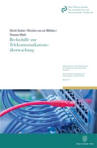 Cover Rechtshilfe zur Telekommunikationsüberwachung