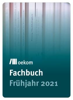 oekom-Fachbuch – VLB-TIX-Vorschau für das Frühjahr 2021