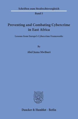 Cover Preventing and Combating Cybercrime in East Africa