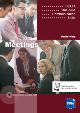 Cover Delta Business Communication Skills: Meetings B1-B2 9783125013254