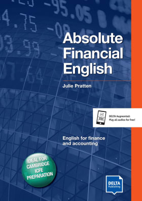 Cover Delta Business English: Absolute Financial English B2-C1 9783125013285