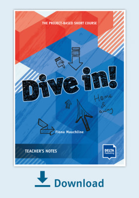 Cover Dive in! Teachers Notes - Home and away NP00850130595