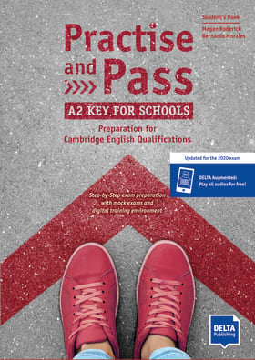 Cover Practise and Pass A2 Key for Schools (Revised 2020 Exam) 9783125017023