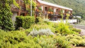 Erholung im theiner's garten Bio-Hotel in Südtirol
