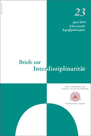 Cover Begriffsphilosophie