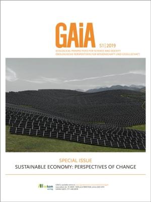 Cover Sustainable Economy
