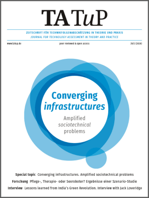 Cover Converging infrastructures