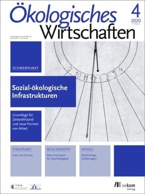 Cover Sozial-ökologische Infrastrukturen