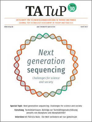 Cover Next generation sequencing