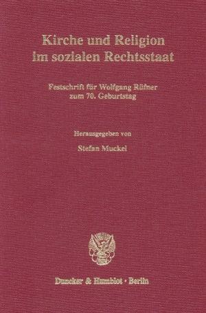 Cover Kirche und Religion im sozialen Rechtsstaat