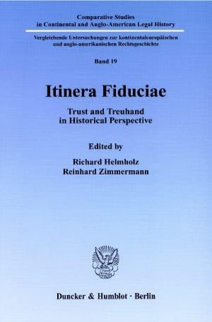Cover Itinera Fiduciae
