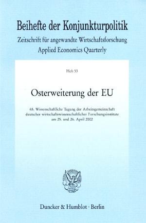 Cover Osterweiterung der EU
