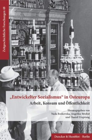Cover »Entwickelter Sozialismus« in Osteuropa