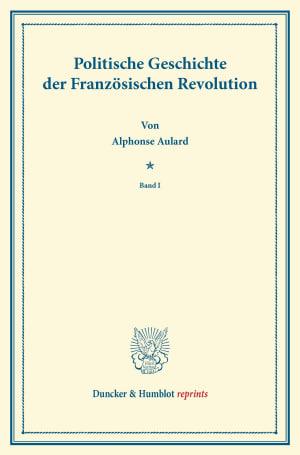 Cover Politische Geschichte der Französischen Revolution