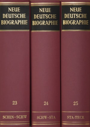 Cover Neue Deutsche Biographie, Lw. (NDB-LW)