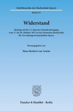 Cover Widerstand