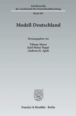 Cover Modell Deutschland