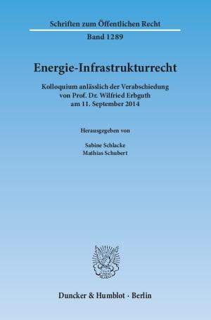 Cover Energie-Infrastrukturrecht