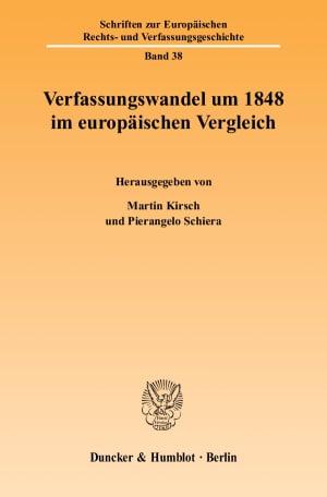 Cover Verfassungswandel um 1848 im europäischen Vergleich