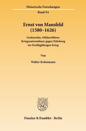 Cover Ernst von Mansfeld (1580–1626)