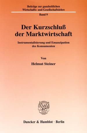 Cover Der Kurzschluß der Marktwirtschaft