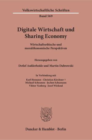 Cover Digitale Wirtschaft und Sharing Economy