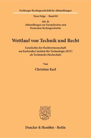 Cover Freiburger Rechtsgeschichtliche Abhandlungen. Neue Folge (FRA)