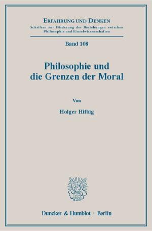 Cover Erfahrung und Denken (ED)