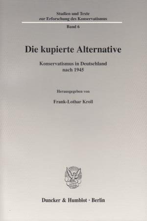Cover Studien und Texte zur Erforschung des Konservatismus (STEK)
