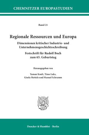 Cover Chemnitzer Europastudien (CES)