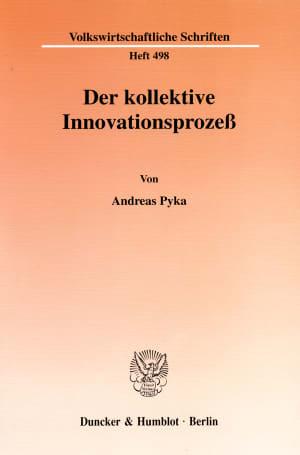 Cover Der kollektive Innovationsprozeß