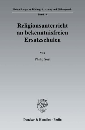 Cover Abhandlungen zu Bildungsforschung und Bildungsrecht (ABB)