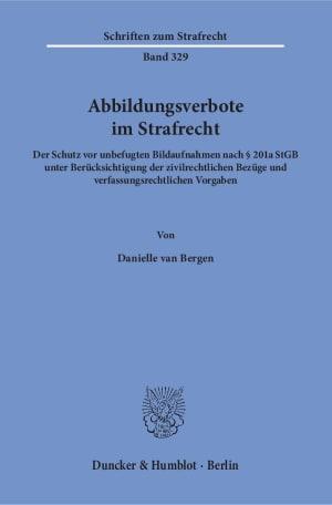 Cover Abbildungsverbote im Strafrecht