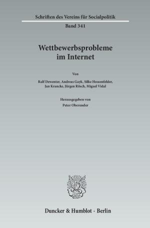Cover Schriften des Vereins für Socialpolitik (SVS)