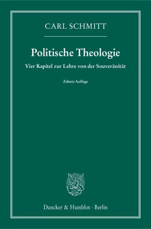 Cover Politische Theologie