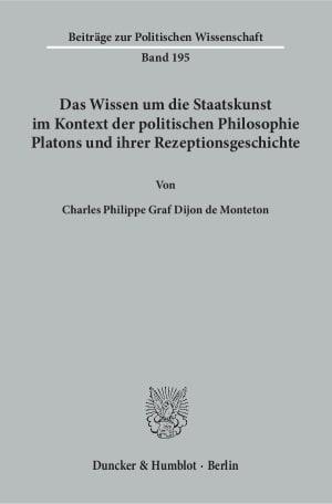 Cover Beiträge zur Politischen Wissenschaft (BPW)