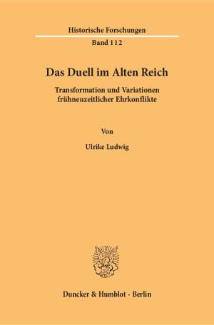 Cover Das Duell im Alten Reich