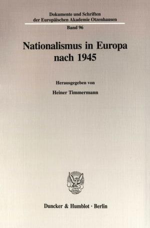 Cover Dokumente und Schriften der Europäischen Akademie Otzenhausen (EAO)