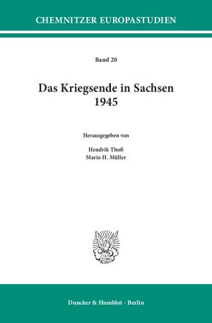 Cover Das Kriegsende in Sachsen 1945