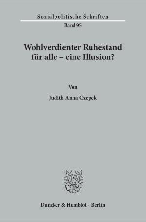 Cover Sozialpolitische Schriften (SPS)