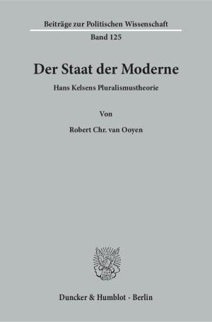 Cover Der Staat der Moderne