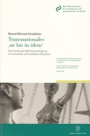 Cover Transnationales 'ne bis in idem'