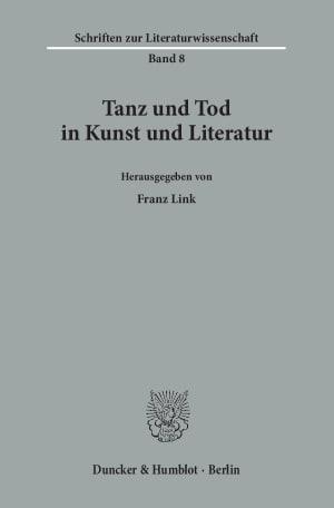 Cover Tanz und Tod in Kunst und Literatur