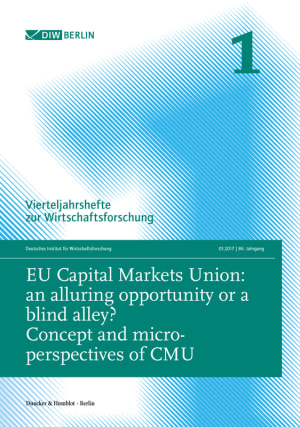 Cover EU Capital Markets Union: an alluring opportunity or a blind alley? (VJH 1/2017 )